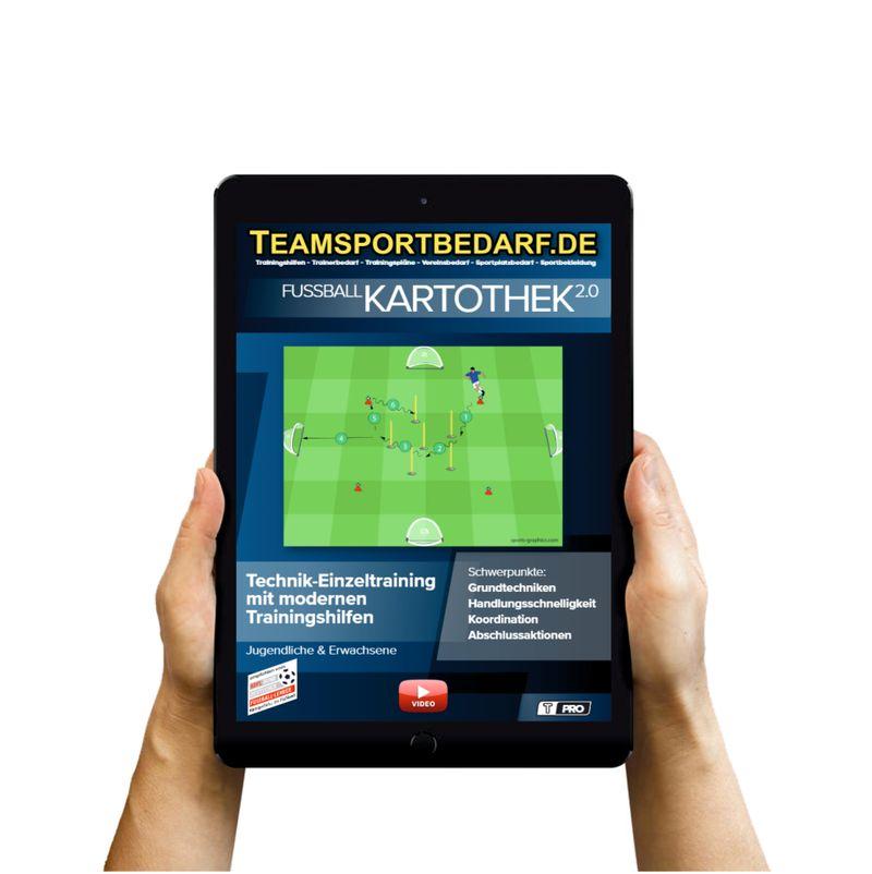 Download (60 Übungen) - Technik-Einzeltraining (Fußball)