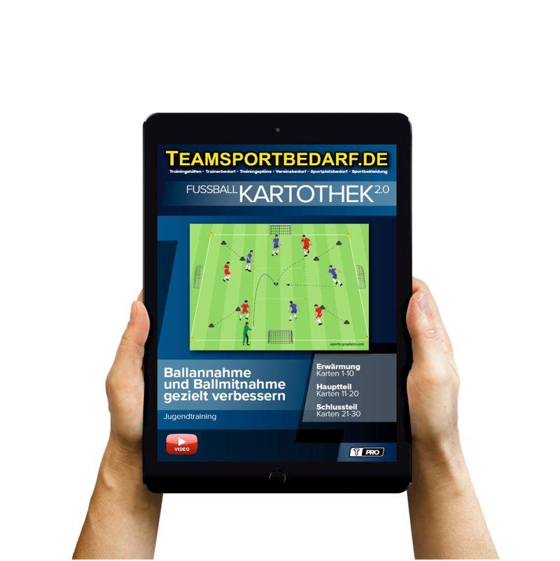 Download (60 Übungen) - Ballannahme und Ballmitnahme gezielt verbessern