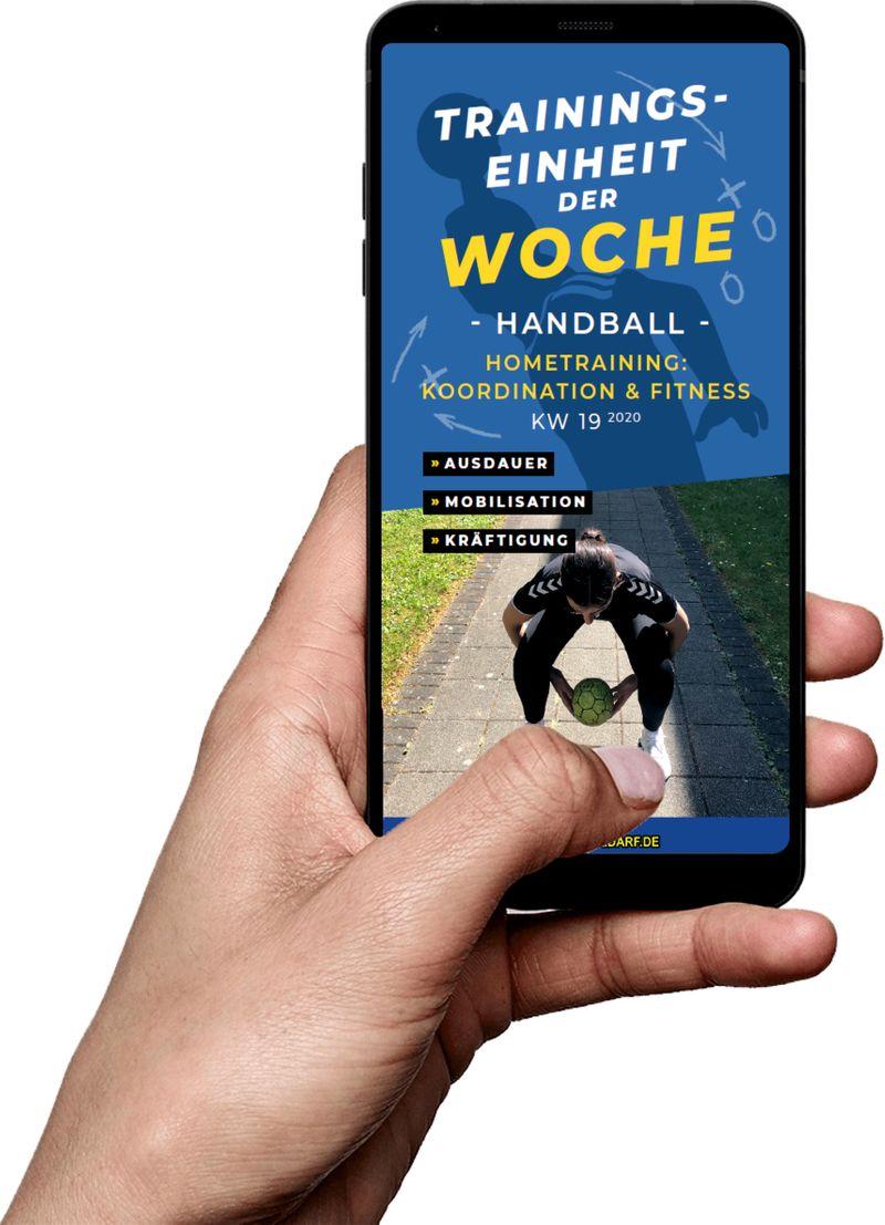 Download (KW 19) - Hometraining: Koordination & Fitness (Handball)