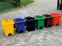 60 Liter Mülleimer (Mülltonne) - 6 Farben