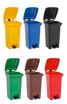 80 Liter Mülleimer (Mülltonne) - 6 Farben