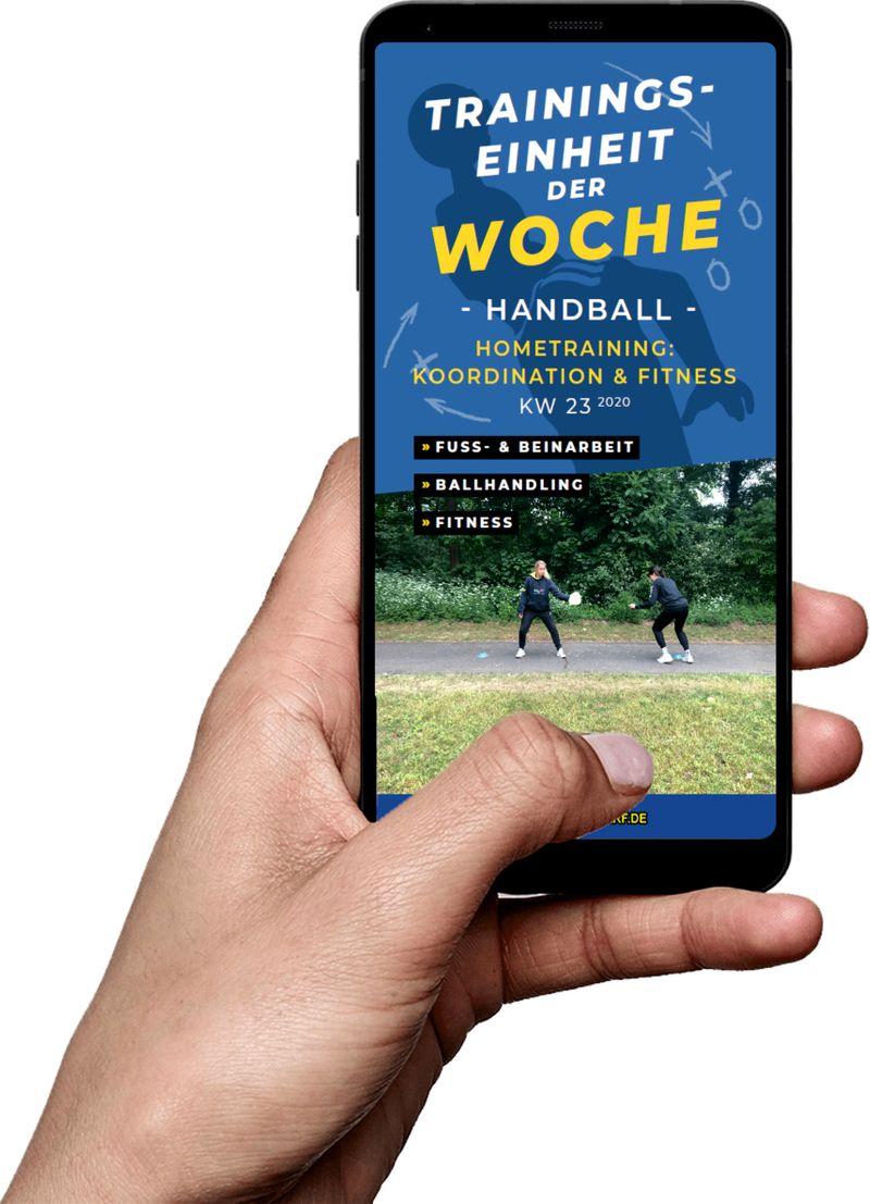 Download (KW 23) - Hometraining: Koordination & Fitness (Handball)
