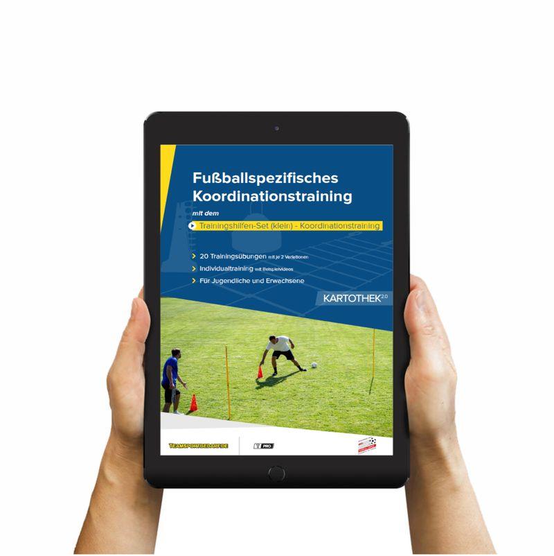 Download (60 Übungen) - Trainingshilfen Set (klein) - Koordinationstraining (Fußball)