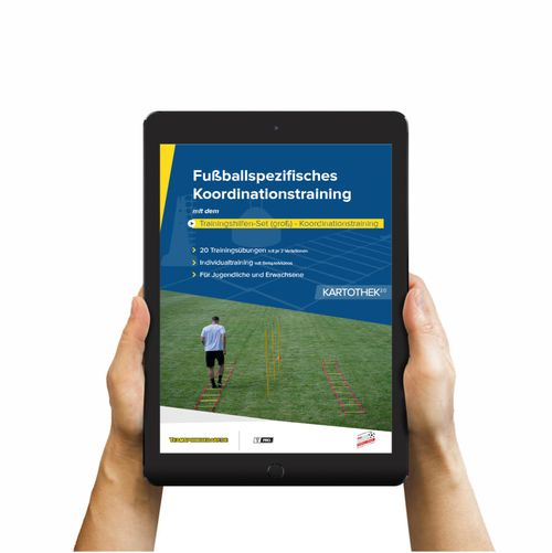 Download (60 Übungen) - Trainingshilfen Set (groß) - Koordinationstraining (Fußball)