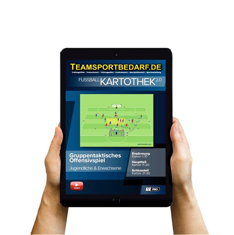 Download (60 Übungen) -  Gruppentaktisches Offensivspiel (Fußball)