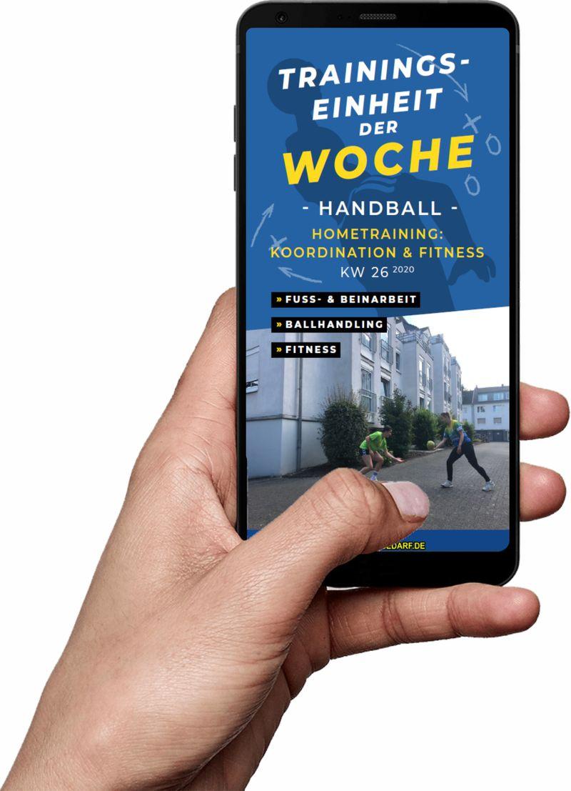 Download (KW 26) - Hometraining: Koordination & Fitness (Handball)