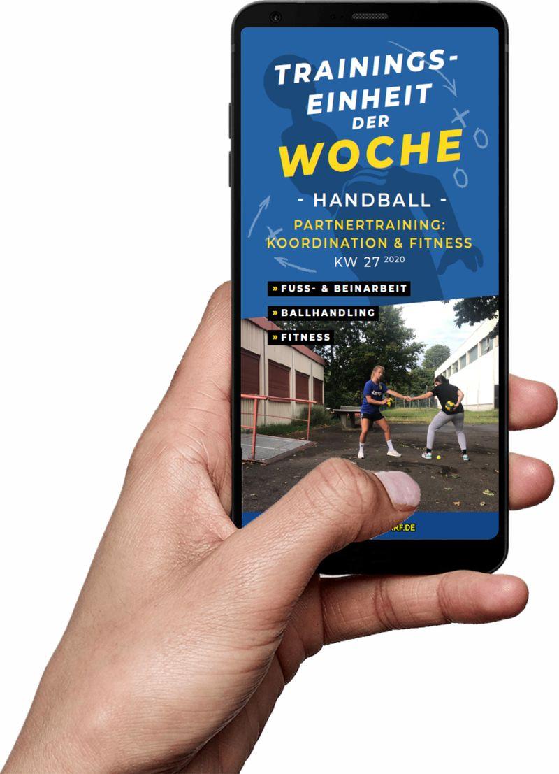 Download (KW 27) - Hometraining: Koordination & Fitness (Handball)