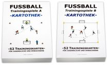 "FUSSBALL - Kartotheken SET ""Trainingsspiele A+B"""