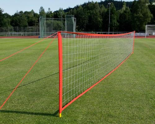 Fussballtennis-Anlage - Breite: 9 m