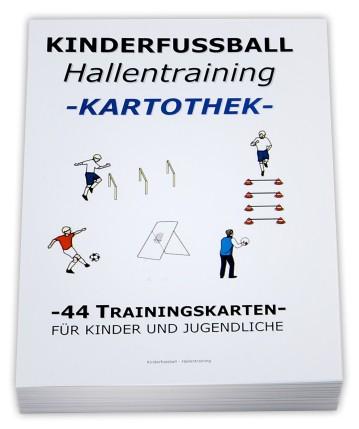 Fussball Trainingskartothek für Kinder (Schwerpunkt: Hallentraining)