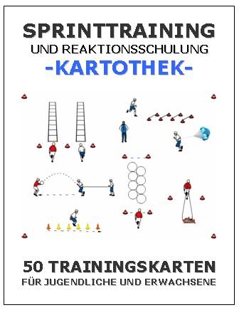 LEICHTATHLETIK Kartothek - Sprinttraining und Reaktionsschulung