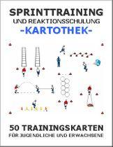 VOLLEYBALL Kartothek - Sprinttraining und Reaktionsschulung