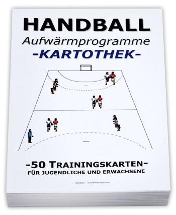 HANDBALL Trainingskartothek - Aufwärmprogramme