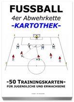 "FUSSBALL Trainingskartothek - ""4er Abwehrkette"""