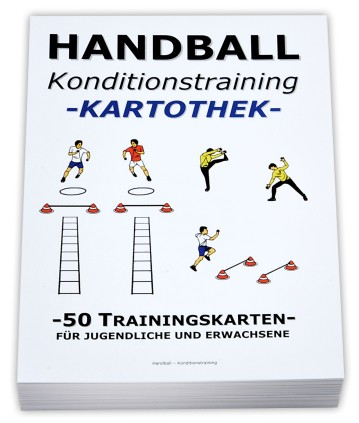 HANDBALL Trainingskartothek - KONDITION/AUSDAUER