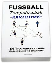 "FUSSBALL Trainingskartothek - ""Tempofussball"" (One-Touch)"