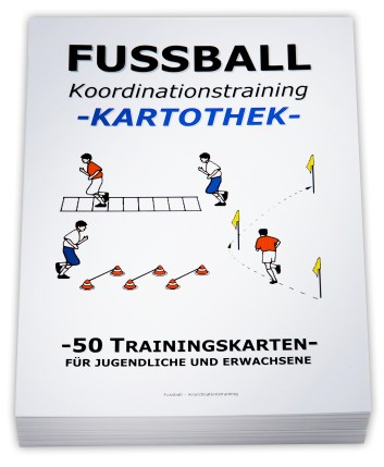 "FUSSBALL Trainingskartothek - ""Koordinationstraining"""
