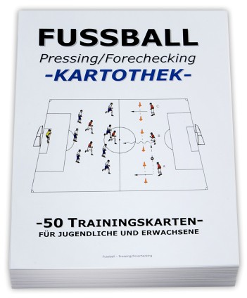 "FUSSBALL Trainingskartothek - ""Pressing"" (Forechecking)"