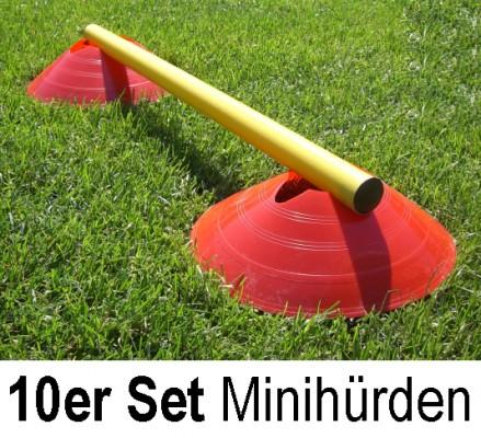 Minihürden 10er Set - Hürdensystem