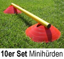 Mini Hurdles - hurdle system (set of 10)