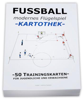 "FUSSBALL Trainingskartothek - ""modernes Flügelspiel"""