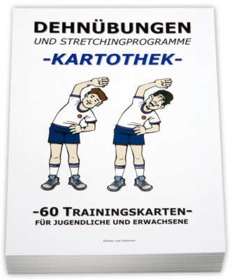 "Trainingskartothek - ""Dehnübungen/Stretching"""
