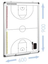 BASKETBALL - magnet. Taktiktafel 600 x 900 mm