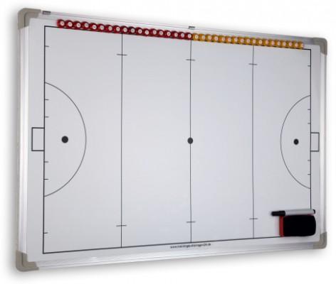 Hockey - magnet. Taktiktafel 600 x 900 mm