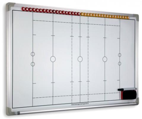 RUGBY - magnetische Taktiktafel 600 x 900 mm