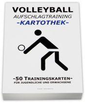 VOLLEYBALL Kartothek - Aufschlagtraining
