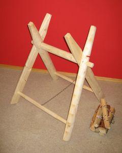 Sägebock aus Holz