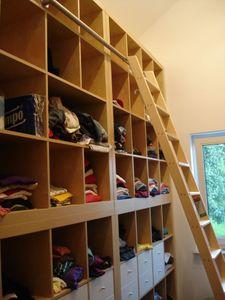 Edelstahlrohr für Einhängevorrichtung an Wandregalen Hochbetten und Bibliotheken (0,5 - 2,0 m). – Bild 4