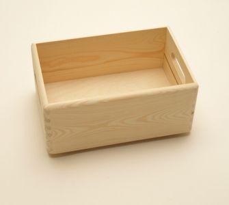 Holzkiste Holzbox 30 x 20 x 14 cm