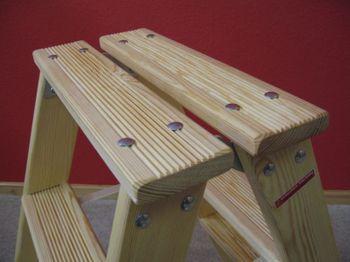 Doppelleiter-Stil 5 Stufen geriffelt