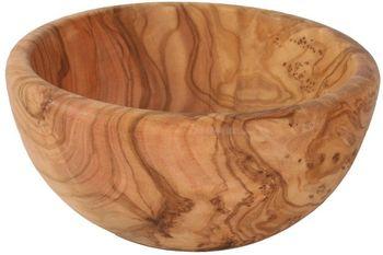 Salatschüssel Durchmesser 24-25 cm aus Olivenholz