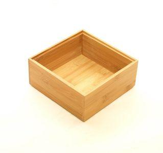 Bambus Ordnungsbox 15 x 15 x 7 cm – Bild 1