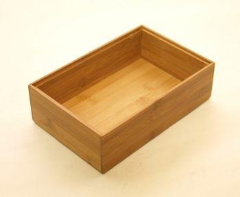 Bambus Ordnungsbox 23 x 15 x 7 cm – Bild 1