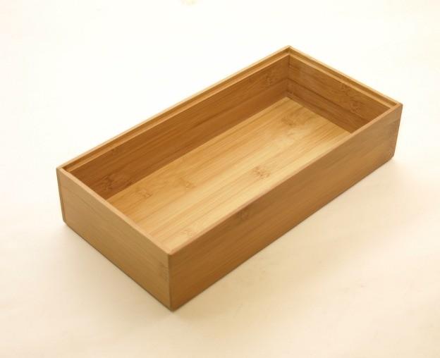 bambus ordnungsbox 30 x 15 x 7 cm wohn accessoires. Black Bedroom Furniture Sets. Home Design Ideas
