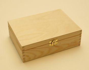 Teebox Sortimentskasten mit 6 Fächern – Bild 1