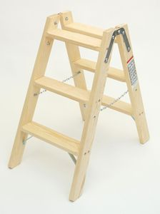 Doppelleiter-Classic 3 Stufen – Bild 1