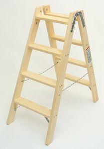Doppelleiter-Classic 4 Stufen – Bild 1