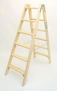 Doppelleiter-Classic 6 Stufen – Bild 1
