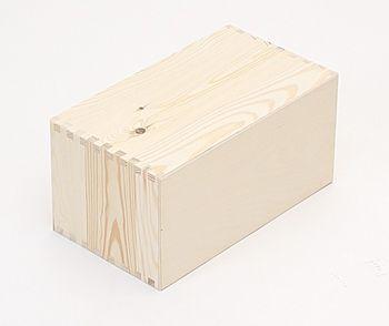 Holzkiste Holzbox Regalsegment 30 x 15 x 17 cm – Bild 2