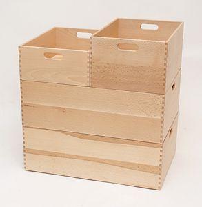 Holzkiste Holzbox aus Buche lackiert 60 x 40 x 21 cm – Bild 2