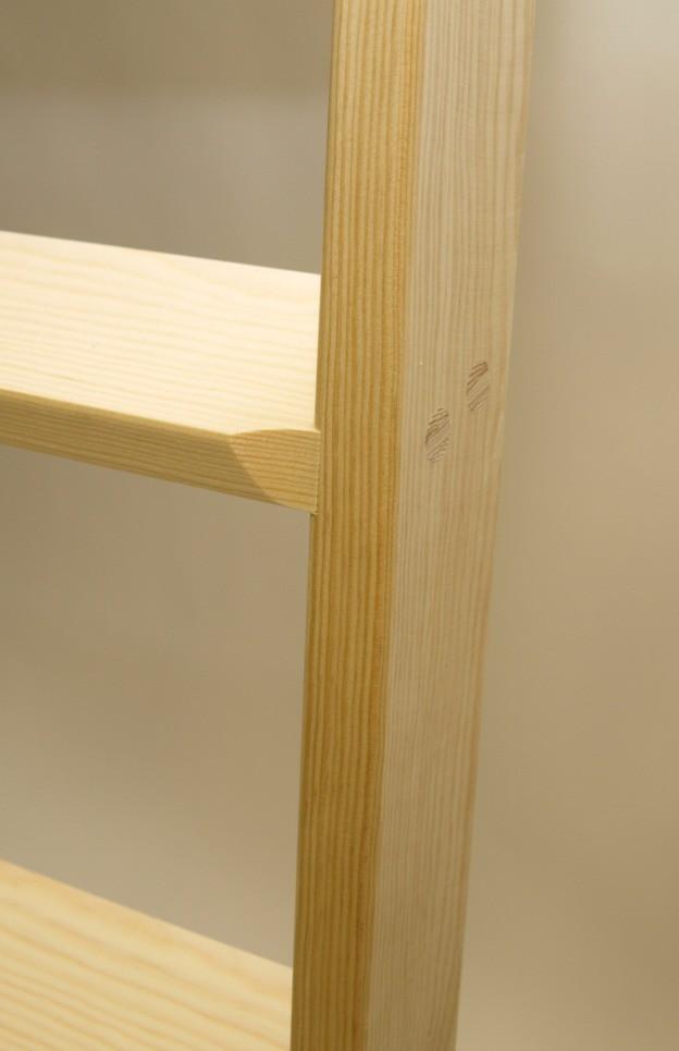 parallelanlegeleiter hochbettleiter 10 stufen stufen anlegeleitern aus holz stufen. Black Bedroom Furniture Sets. Home Design Ideas