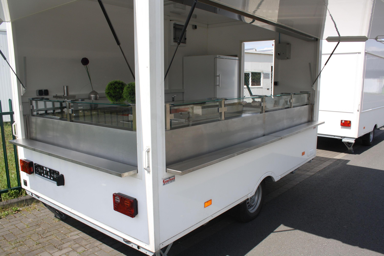 imbissanh nger imbisswagen neu foodtrailer mit gastank. Black Bedroom Furniture Sets. Home Design Ideas