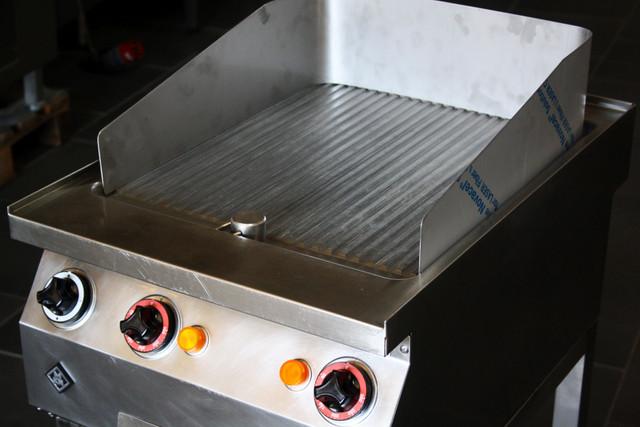 Grillplatte Griddle Bräter MKN geriffelt  Steakbräter + 12 Monate Garantie* – Bild 3