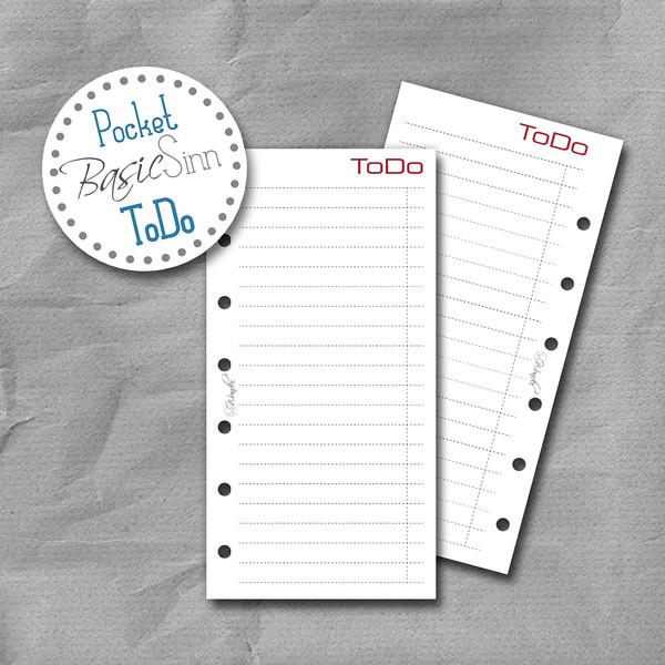 """ToDo-Listen """"BasicSinn"""" Pocket – Bild 1"""
