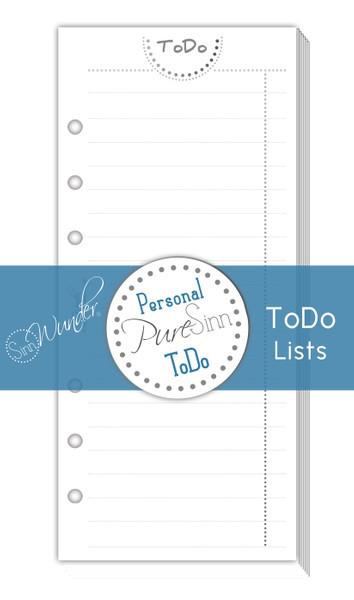 ToDo-Lists PureSinn Personal