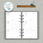 "2020 Wochenkalender ""VintageSinn"" Personal (A6) 001"
